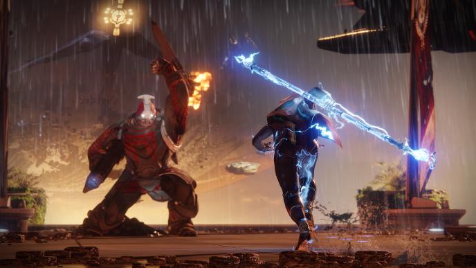 Dans« Destiny2», le joueur collectionne les fusils, comme les armes de poing ou les épées.