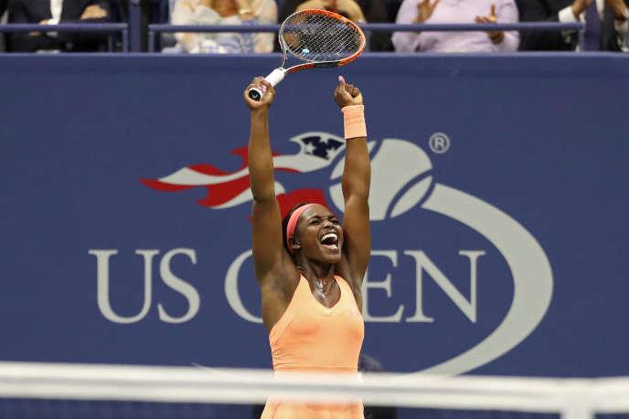 957e au classement WTA à cause d'une longue blessure, Sloane Stephens va disputer samedi sa première finale en Grand Chelem.