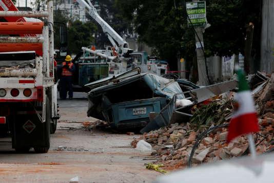 L'Etat d'Oaxaca a été le plus affecté par la secousse, selon le ministre de l'agriculture José Calzada.