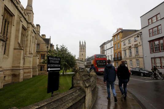 L'université d'Oxford, en septembre 2017.