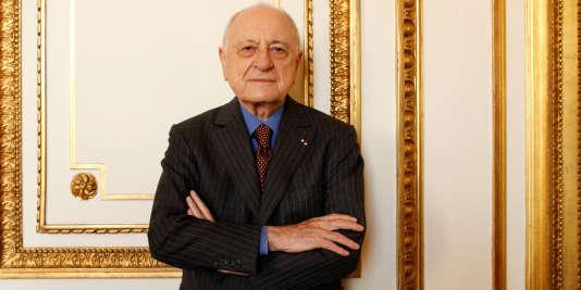 Pierre Bergé, le 27 octobre 2009.
