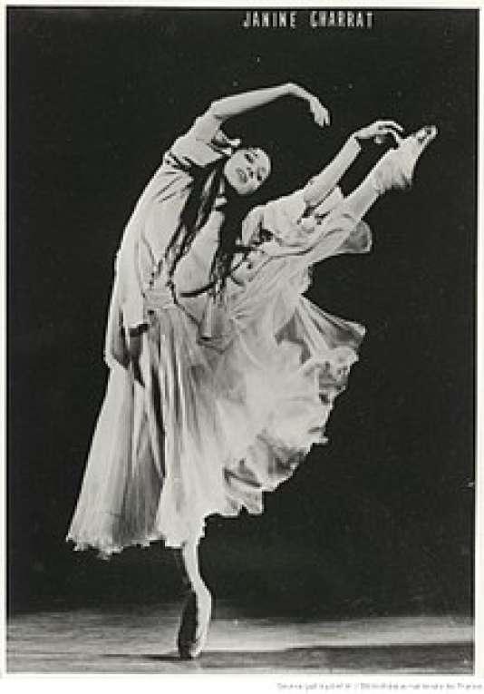 La danseuse et chorégraphe Janine Charrat.