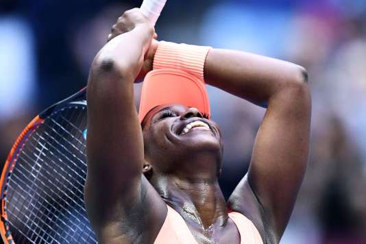 Sloane Stephens après sa victoire lors de la finale de l'US Open, le 9 septembre.