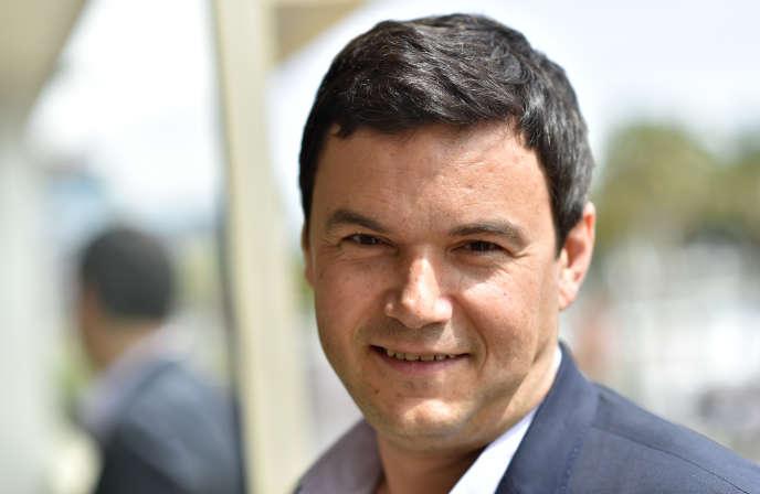 L'économiste Thomas Piketty à Cannes, en mai 2016.