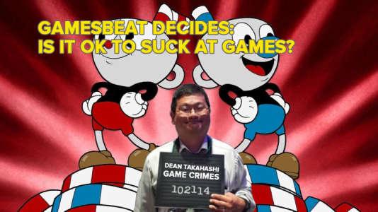 « Est-ce que ça passe si on est nul en jeu vidéo ?» Dean Takahashi (au centre) se met en scène après s'être retrouvé pris dans une tempête de moqueries et d'insultes.