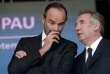 Edouard Philippe et François Bayrou, à Pau le 9 septembre.