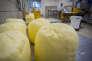 Usine de fabrication du beurre d'Echiré, dans les Deux-Sèvres, en 2015.