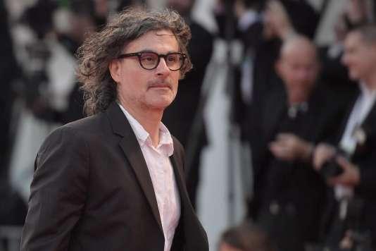 Le cinéaste Ziad Doueiri lors de la cérémonie de clôture de la Mostra de Venise, le 9 septembre 2017.