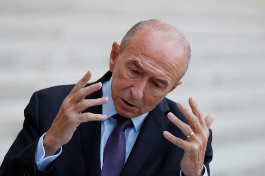 Gérard Collomb, le 10 septembre, à Paris.