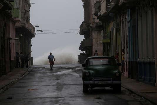 Irma s'était abattu sur Cuba, samedi, provoquant de lourds dégâts matériels