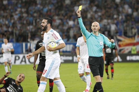 Adil Rami lors du match face à Rennes.