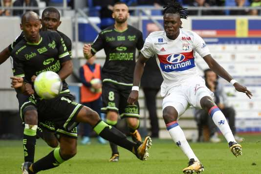 Lyon a battu Guingamp.