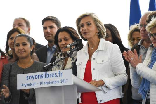 Valérie Pécresse lance son mouvement, Libres!