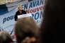 Le discours politique de rentrée de Marine Le Pen à Brachay (Haute-Marne), le 9septembre2017.