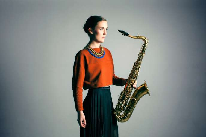 La saxophoniste de jazz Hanna Paulsberg.