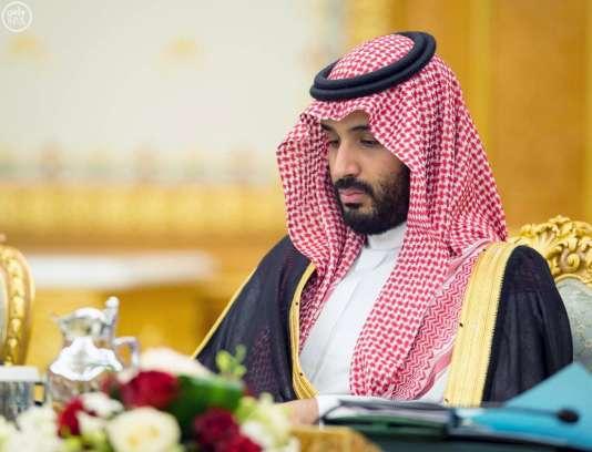 Mohammed Ben Salman, le prince héritier saoudien, à Riyad en avril 2016.