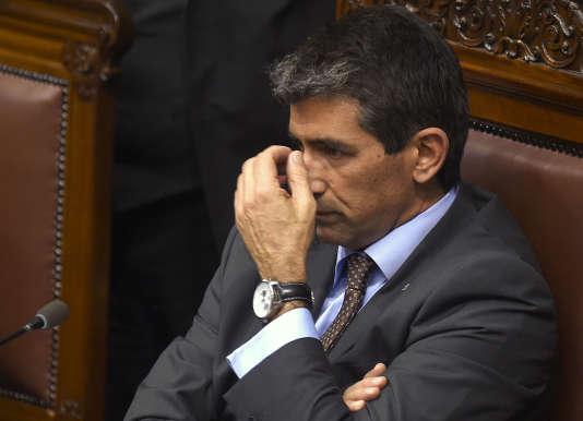 Raul Sendic, le 1er août, à Montevideo.
