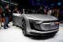 L'Audi e-tron Sportback, nouveau véhicule électrique de la marque, au Salon de l'automobile de Shanghaï, le 19 avril.