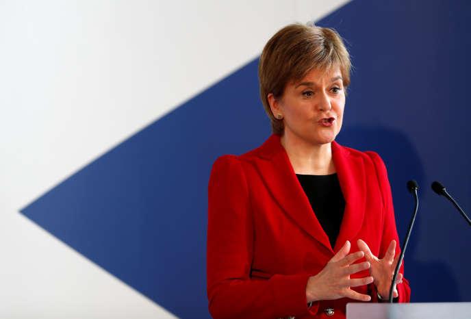 «Qu'on laisse voter les gens», a enjoint Nicola Sturgeon, la première ministre d'Ecosse