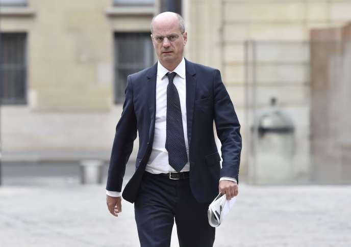 Le ministre de l'éducation Jean-Michel Blanquer le 11 septembre 2017 à Matignon.