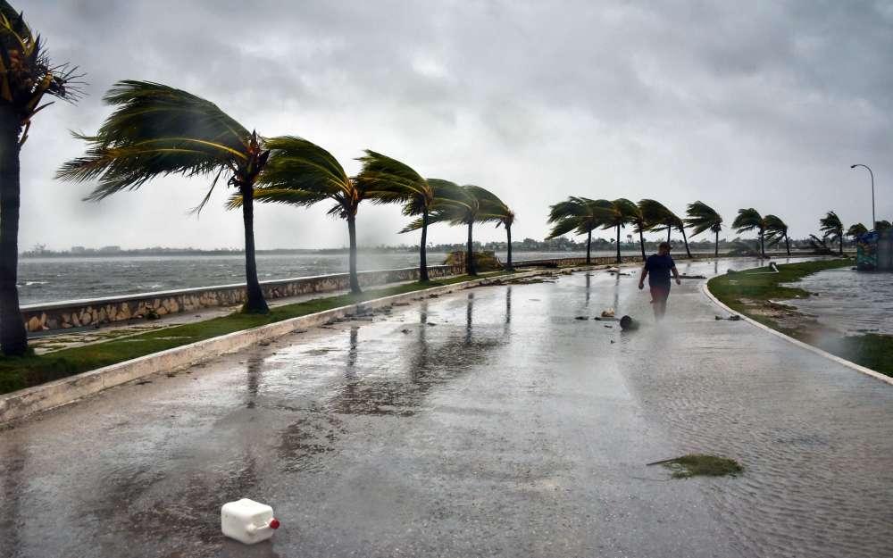Les rafales ont atteint jusqu'à 256km/h lorsque l'ouragan Irma a touché Cuba, selon les médias d'Etat.