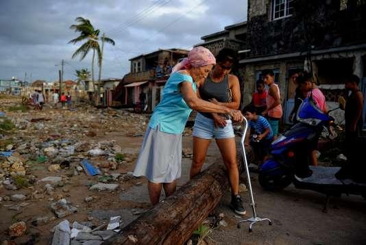 A La Havane, dimanche 10 septembre.