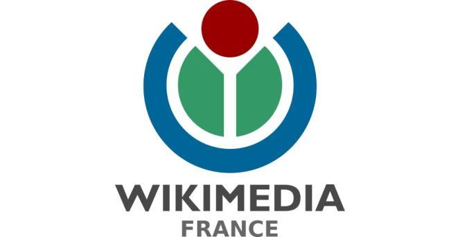 Le logo de Wikimédia France.