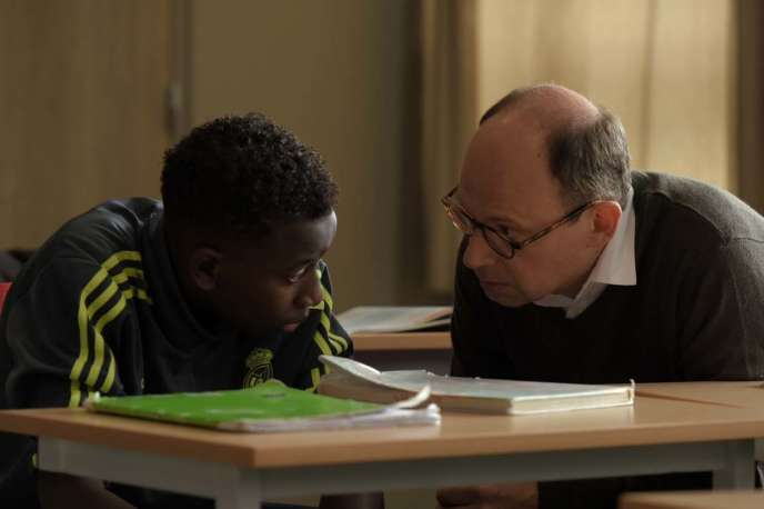 Abdoulaye Diallo et Denis Podalydès dans« Les Grands Esprits», d'Olivier Ayache-Vidal.