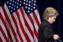 Hillary Clinton, à New York, le 9 novembre 2016, au soir de sa défaite à l'élection présidentielle.