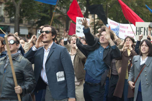 Louis Garrel et Stacy Martin dans« Le Redoutable», de Michel Hazanavicius.
