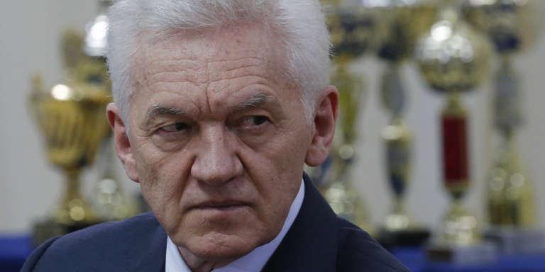 L'homme d'affaires russo-finlandais, Guennadi Timtchenko en mai 2017.