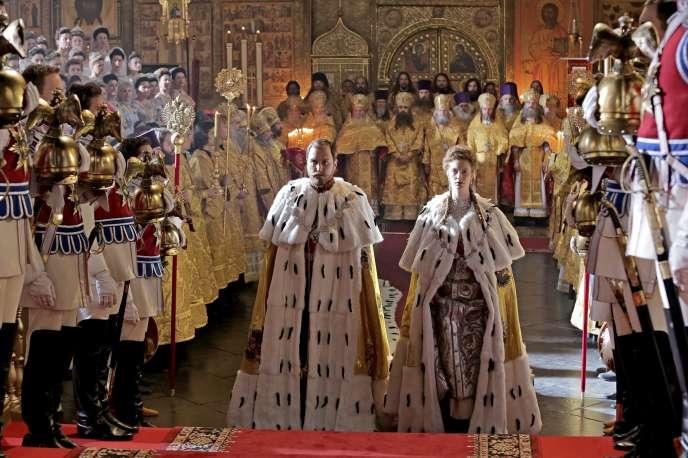 « Matilda», d'Alexeï Outchitel avecLars Eidinger dans le rôle du tsar Nicolas II.