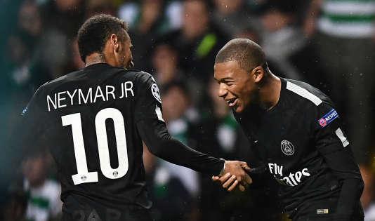 Kylian Mbappé et Neymar, dernières recrues du Paris-Saint-Germain.