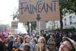 Lors de la journée de manifestations du 12 septembre contre les modifications du code du travail, à Paris.