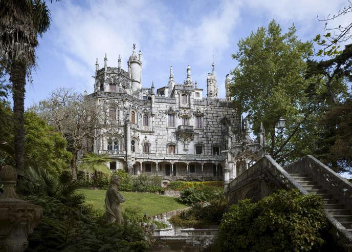 Dans les jardins de la Quinta da Regaleira, monument classé du XIXesiècle, à Sintra.