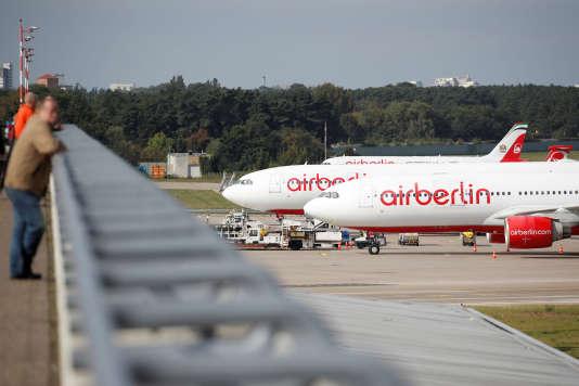 Air Berlin a été lâché par son principal actionnaire en juin, et se trouve en faillite.