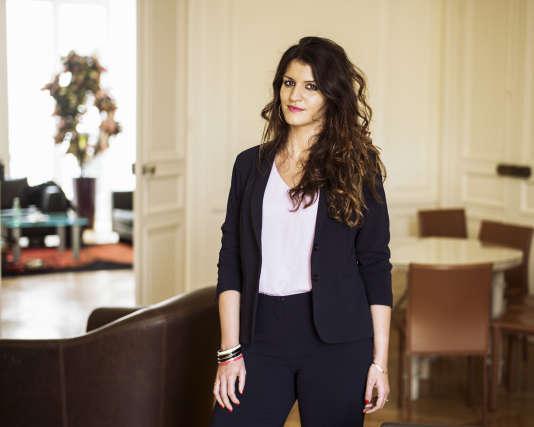 La secrétaire d'Etat à l'égalité entre les femmes et les hommes, Marlène Schiappa, à Paris le 8 août.