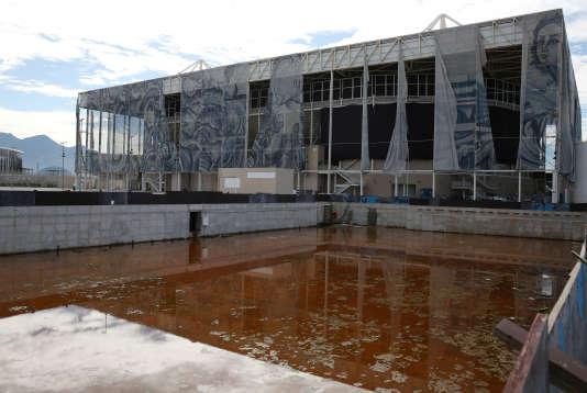 La piscine olympique de Rio, en février.