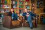 Sylvie Martigny et Jean-Hubert Gailliot au siège des éditions Tristram, à Auch (Gers).