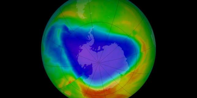 Trente ans de faible r sorption du trou dans la couche d ozone en graphiques - Couche d ozone en anglais ...