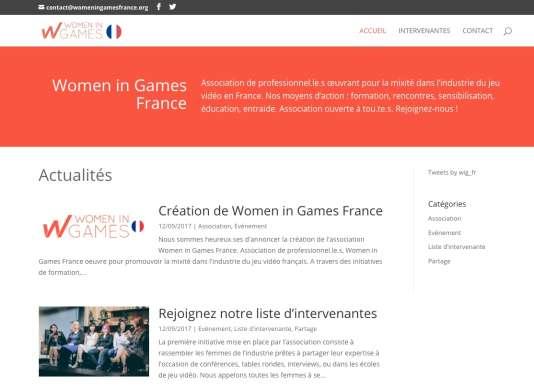 L'association Women in Games France veut donner de la visibilité aux femmes dans le jeu vidéo.