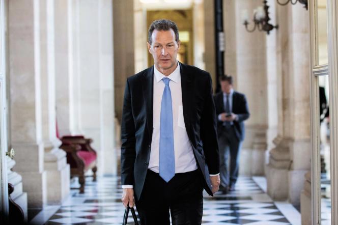Lionel Tardy (ici, ennovembre 2016), ancien salarié, ancien chef d'entreprise et ancien député LR de Haute-Savoie, est aujourd'hui sur le marché du travail.