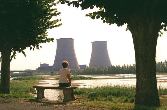 Vue de la centrale nucléaire de Belleville-sur-Loire (Cher), en septembre 1998.