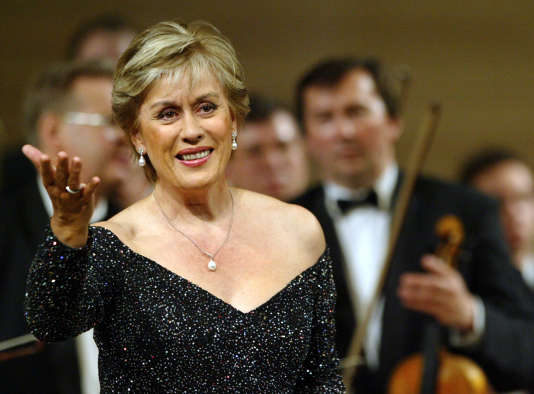 La célèbre soprano n'avait plus chanté en public depuis environ un an.