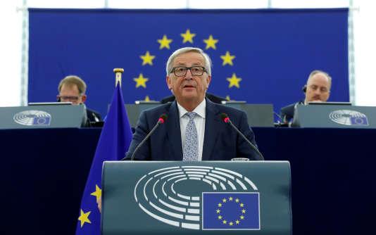 Le président de la Commission européenne Jean-Claude Juncker, le 13 septembre 2017.