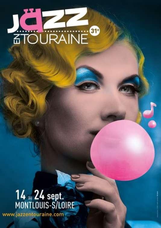 Affiche du festival Jazz en Touraine, à Montlouis-sur-Loire, jusqu'au 24 septembre.