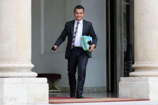 Gérald Darmanin, ministre de l'action et des comptes publics, à l'Elysée, le 6 septembre.