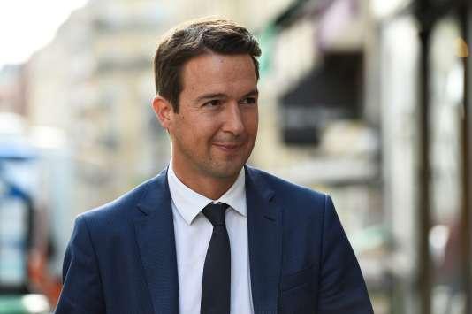 Guillaume Peltier, en juillet 2017.
