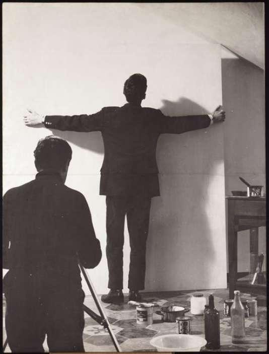 L'affiche de «Performing Art», de Noé Soulier, du 13 au 15 septembre au Centre Pompidou à Paris.