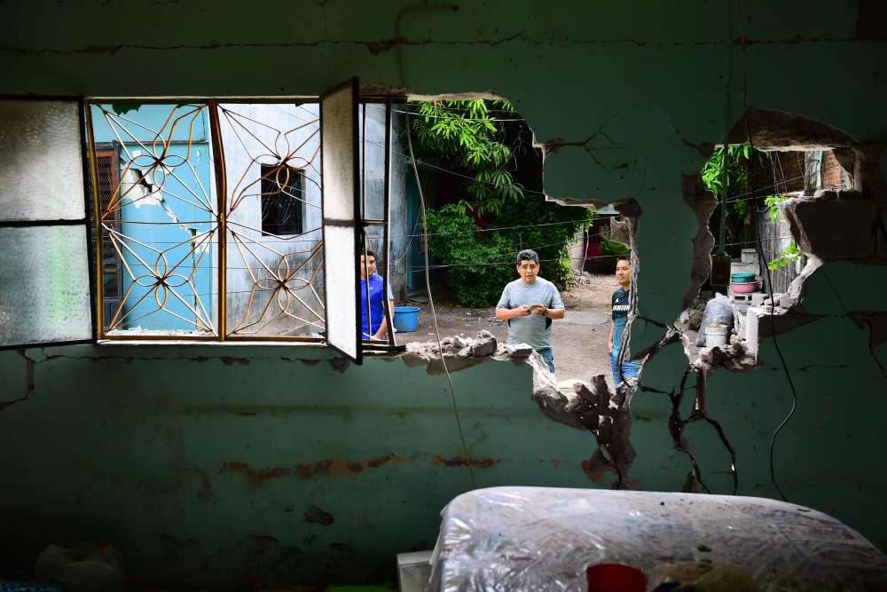 Soixante-seize personnes ont trouvé la mort dans l'Etat d'Oaxaca, le plus touché par la catastrophe.